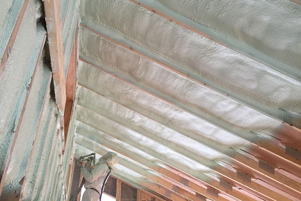 Isolation des murs et des plafonds